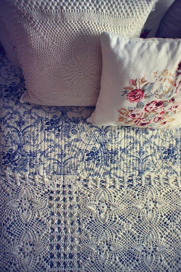 милые детали в дизайне интерьера спальни