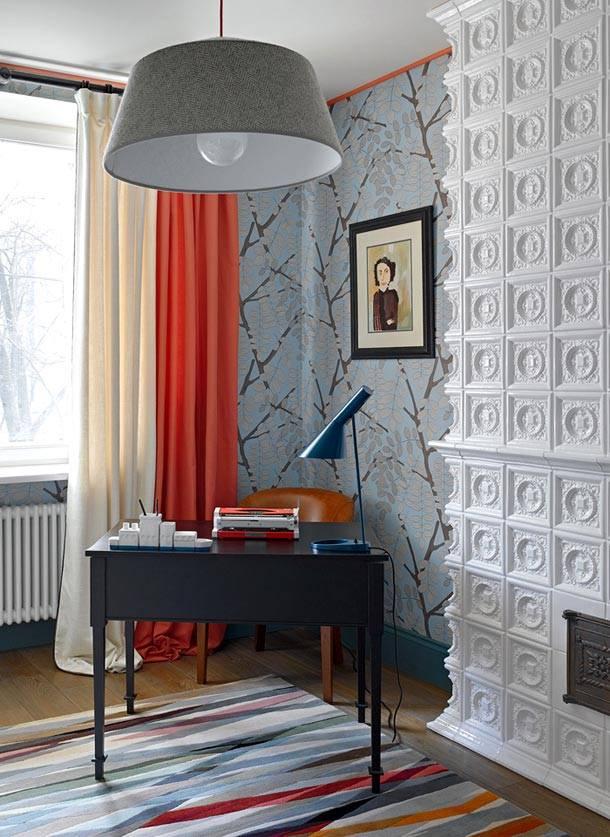 смелый интерьер квартиры в Москве фото