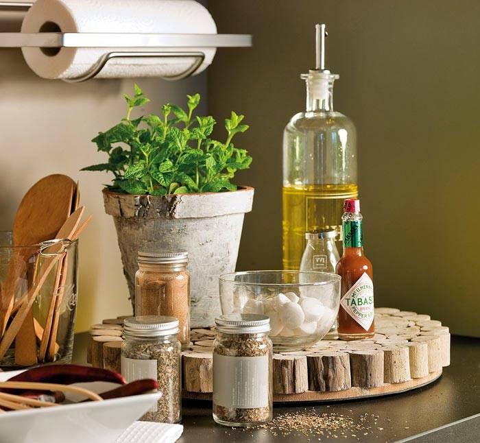 испанское спокойствие в интерьере кухни фото