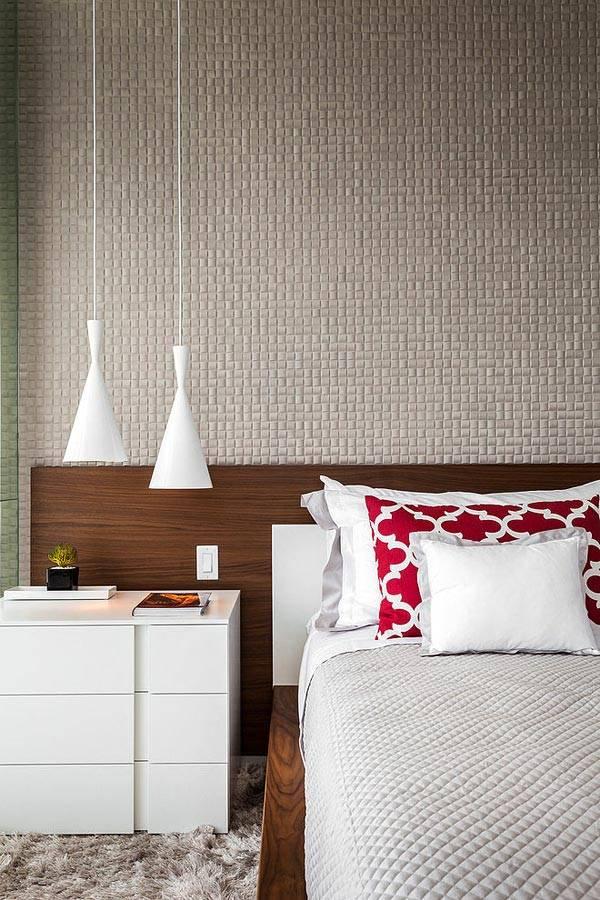 Дизайн спальни в стиле современного минимализма