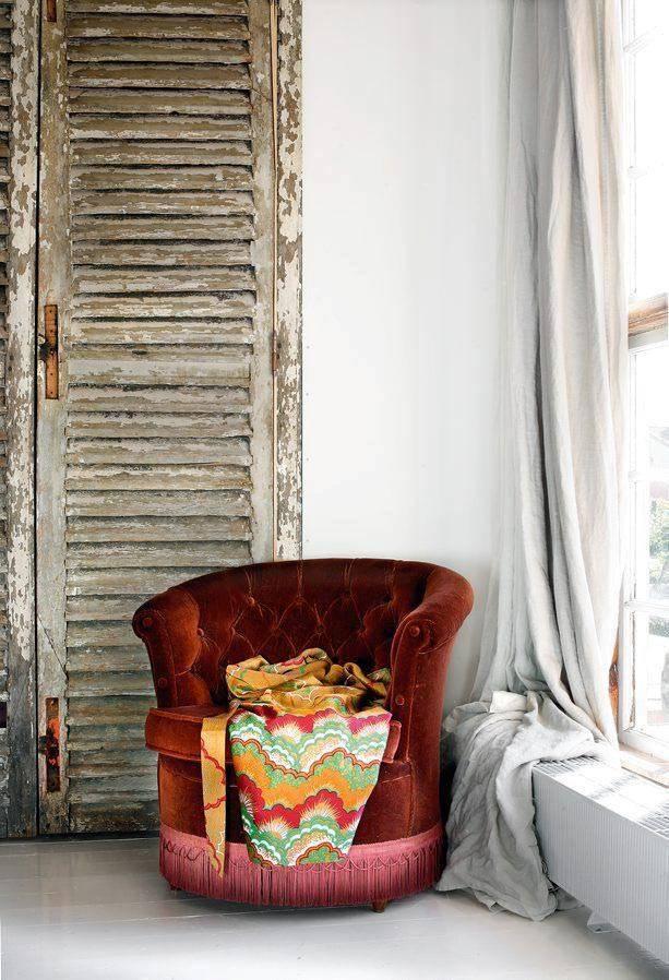 Оформление интерьера таунхауса в винтажном стиле