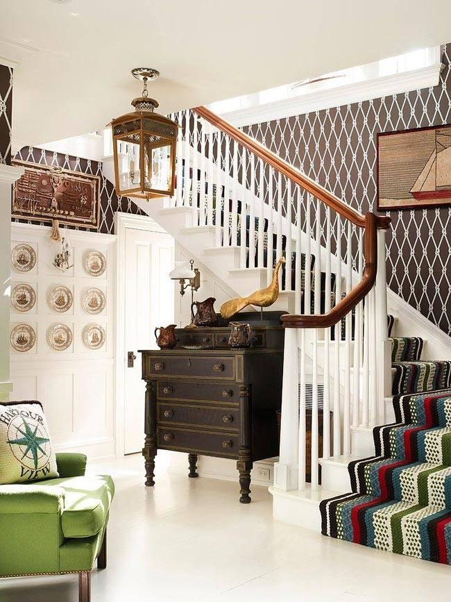 Морская тематика в оформлении интерьера дома
