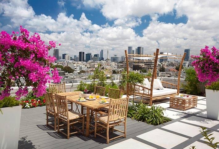 Вдохновляющие идеи для открытой террасы на крыше фото