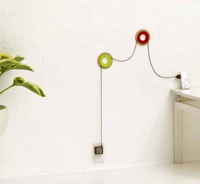 Идеи размещения проводов на стенах квартиры