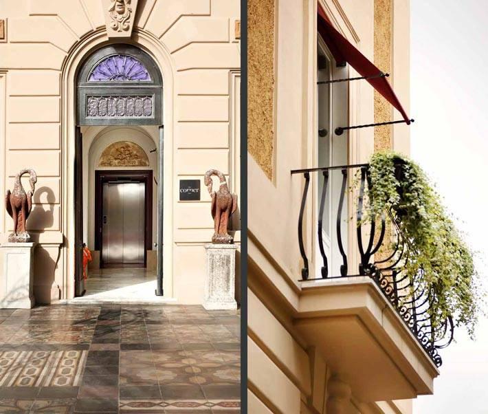 Фасад отеля The Corner в Риме фото