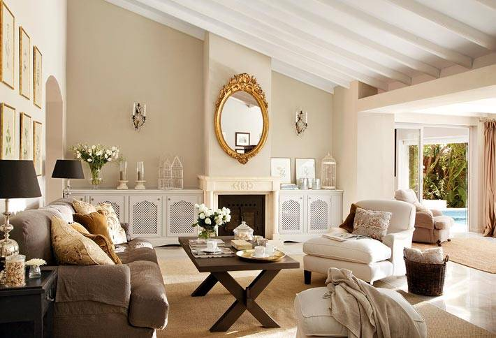 Идеальный дизайн интерьера дома в Марбелье фото