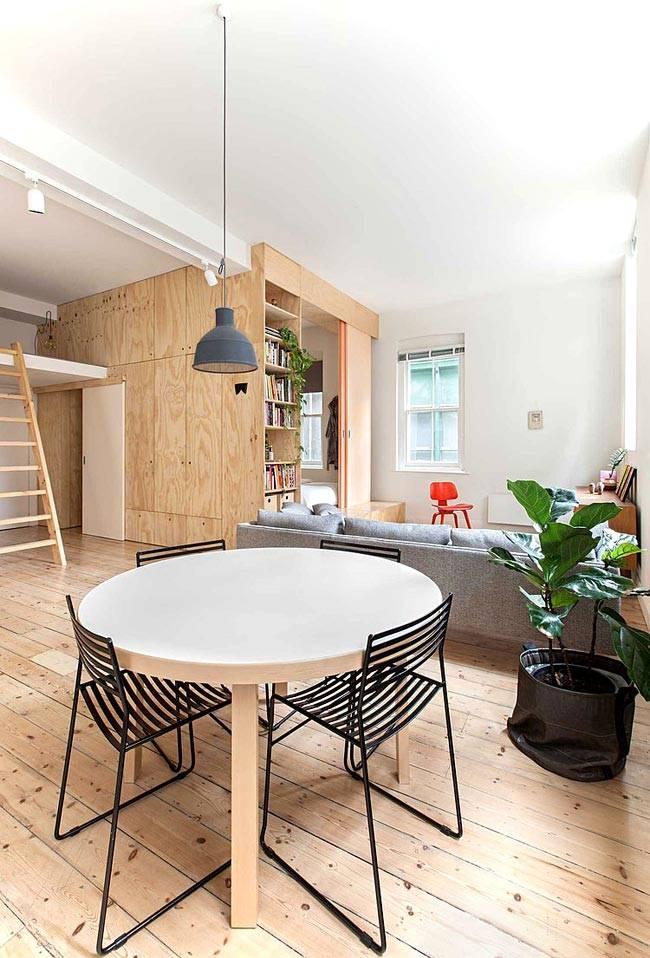 хорошо продуманные функциональные зоны в просторной квартире