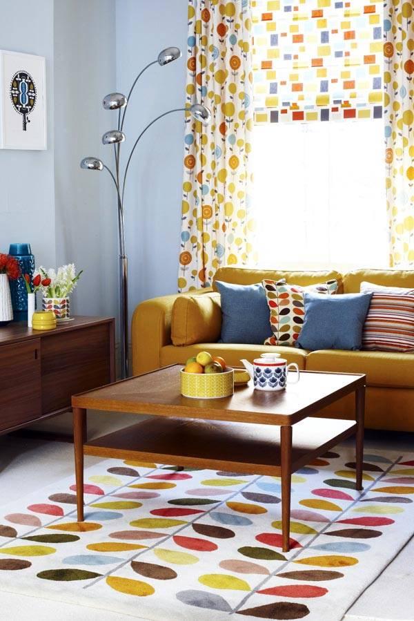 Дизайн интерьера гостиной (фото Joanna Henderson)