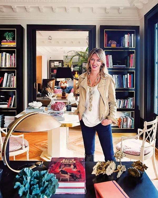 Фотографии красивого интерьера дома в Мадриде