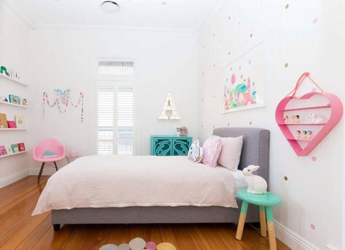 интерьер спальни для девочки-подростка фото