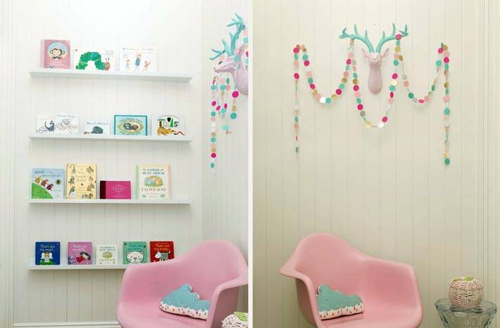 самодельные украшения для детской комнаты фото