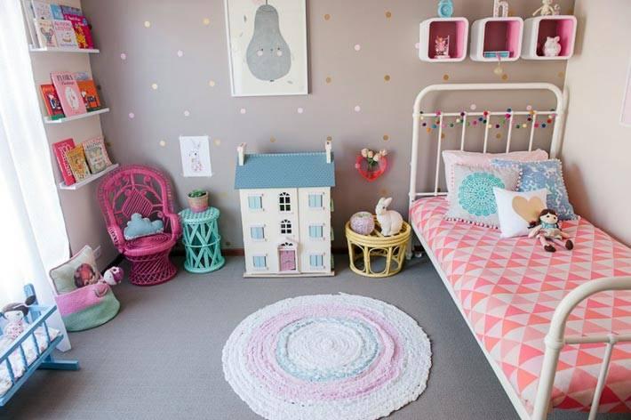 детская спальня в винтажном стиле фото