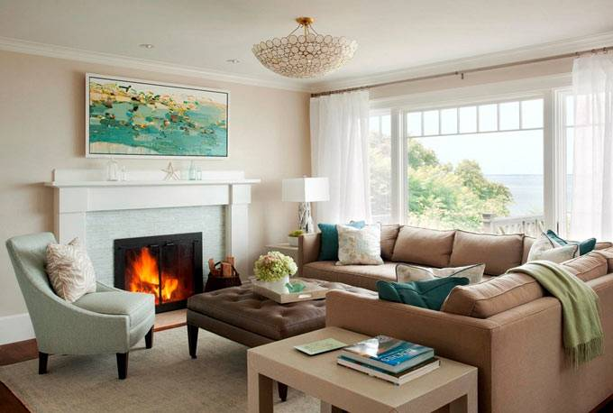 Красивый дизайн интерьера дома от LeBlanc Design фото