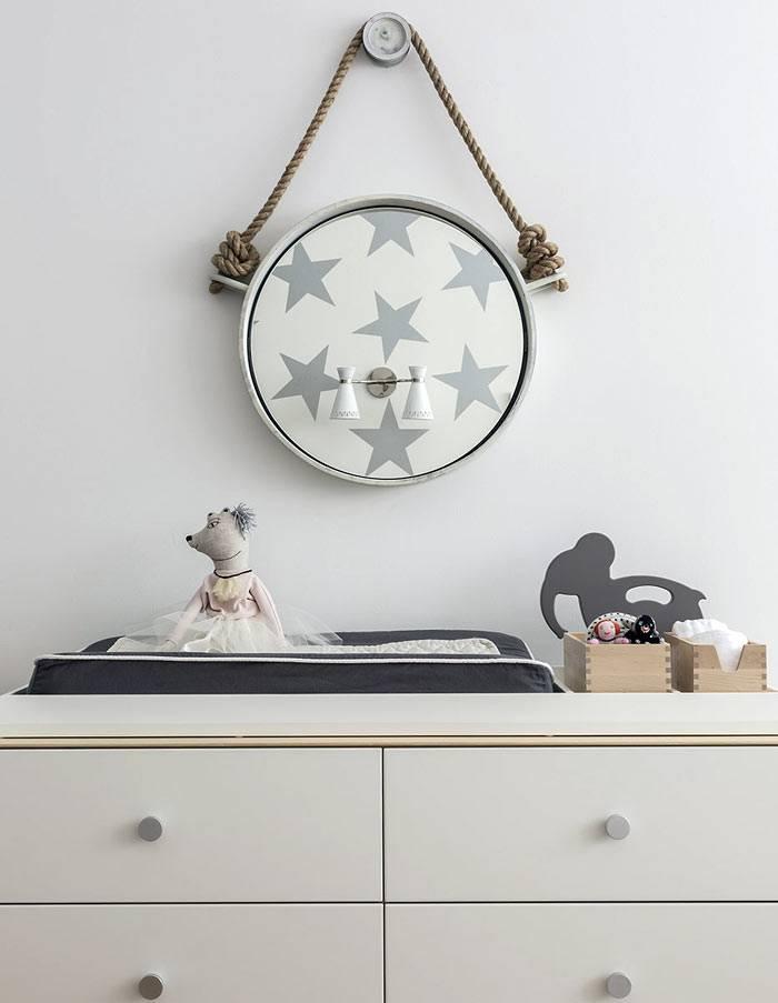 Красивая и ситильная детская комната для двух детей