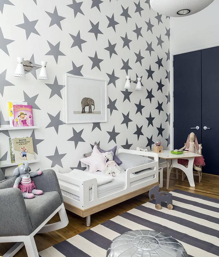 фотографии стильного интерьера детской комнаты