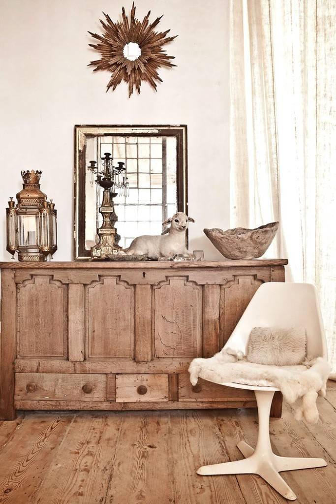 Ретро стиль в дизайне интерьера квартиры фото