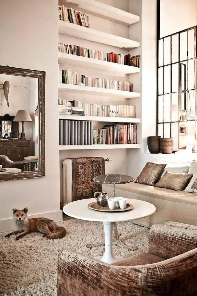 Винтажные элементы декора в интерьере квартиры