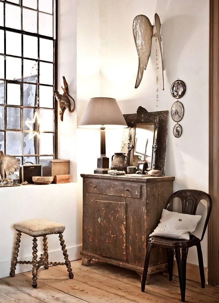 Ретро мебель в оформлении интерьера квартиры