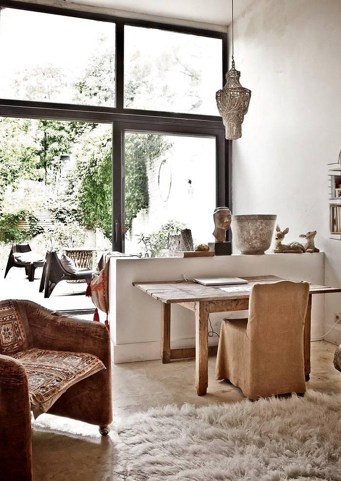 Красивый дизайн квартиры в ретро стиле