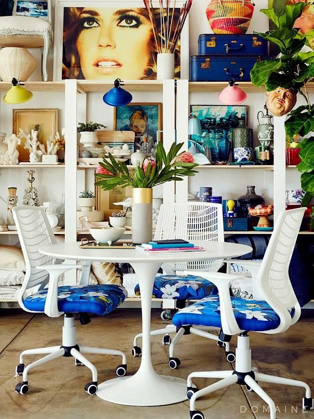 красивый интерьер дизайнерской студии в лос-анджелесе