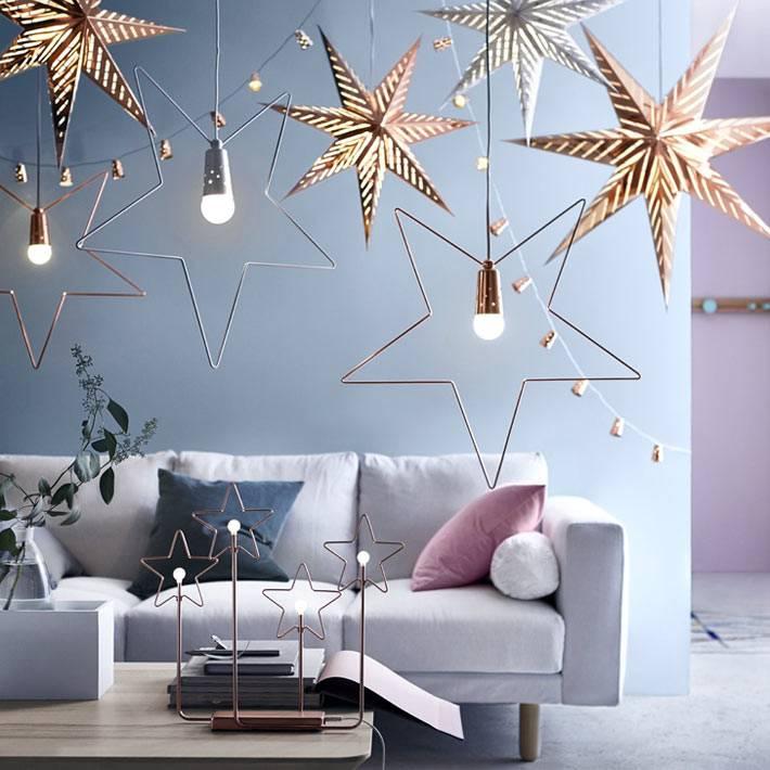 Новогодние идеи декора в зимней коллекции ИКЕА фото