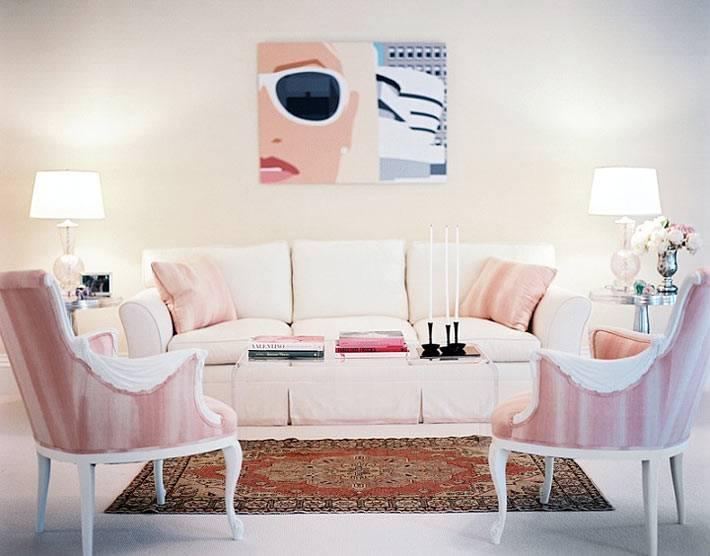 как симметрично расставить мебель в интерьере фото