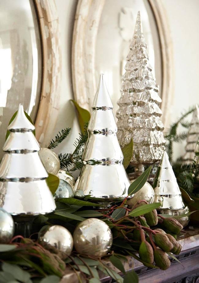 блестящий новогодний декор
