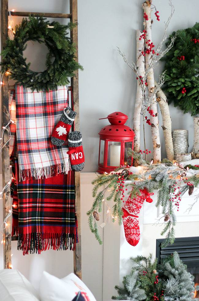 Красивые декорации к новогоднему оформлению дома