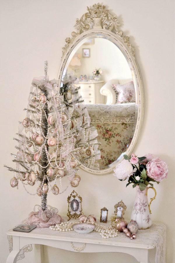 Пастель в украшении новогоднего интерьера
