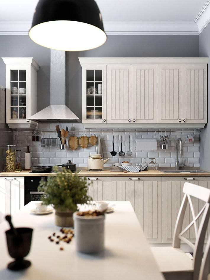 уютный интерьер кухни, дизайн дениса красикова