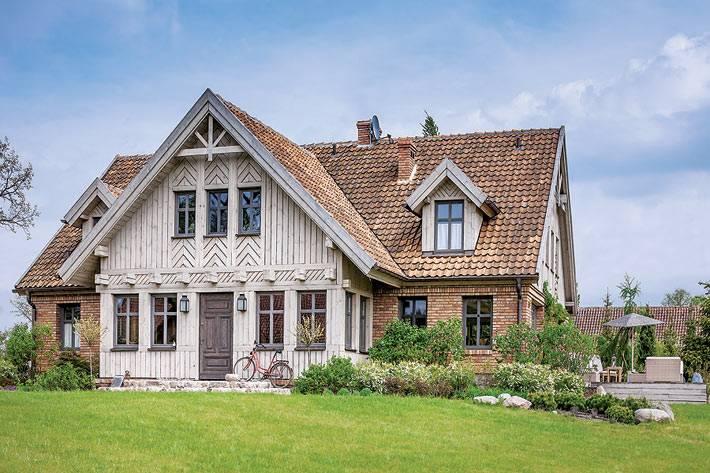 Просторный дом для большой семьи в Польше
