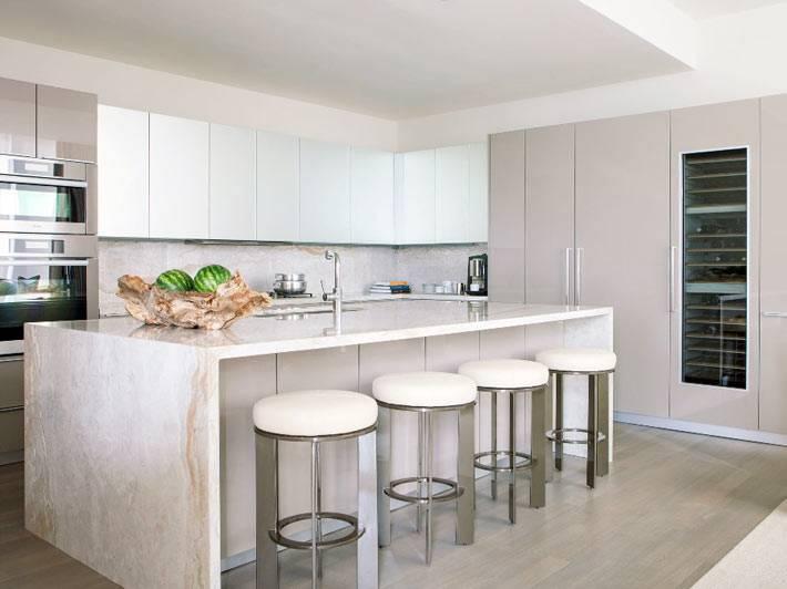дизайн интерьера кухни от LAURA LEE CLARK INTERIOR DESIGN