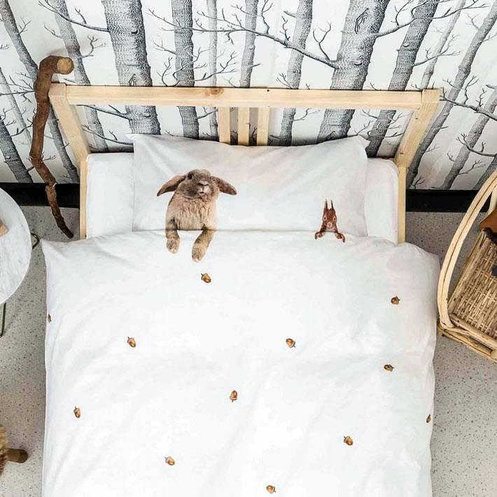 Забавное постельное белье от Snurk фото