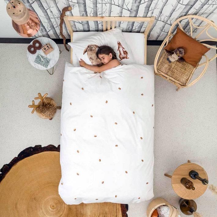 Красивый текстиль для детских кроватей от Snurk