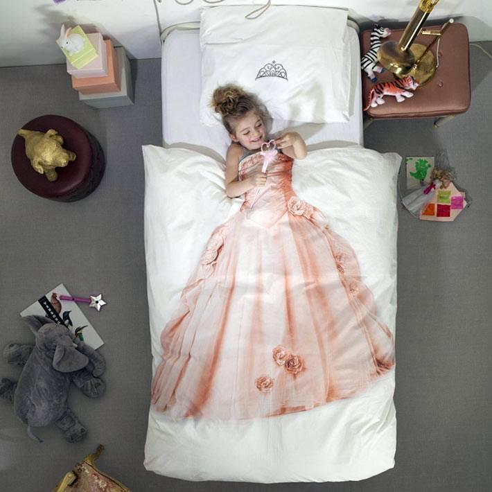 Постельное белье - принцесса для девочки от Snurk