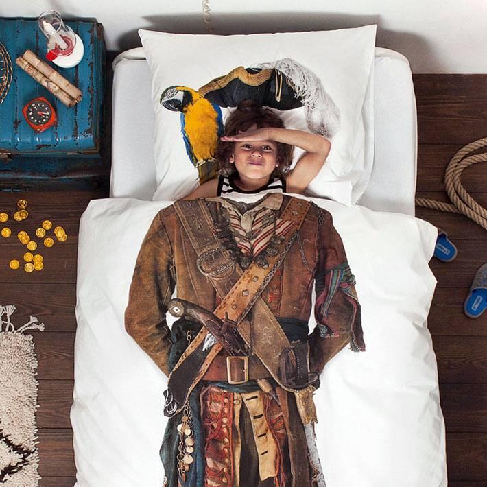 Постельное белье - пират для мальчиков от Snurk