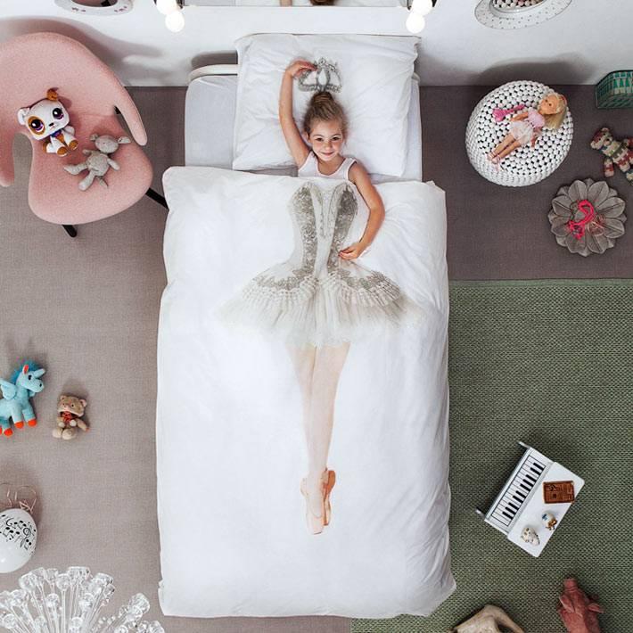 красивая постель с балериной фото