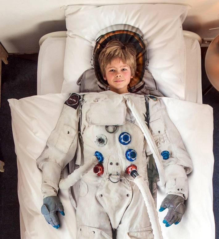 Детское постельное белье - космонавт от Snurk