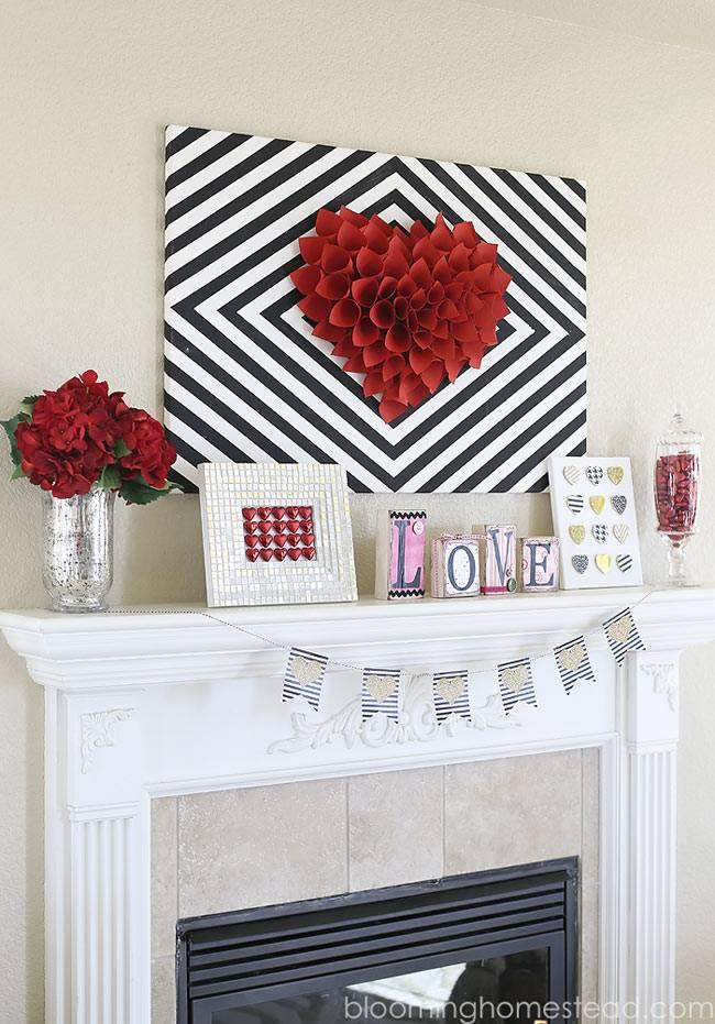 день святого валентина - украшаем дом