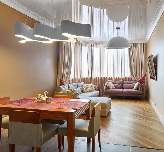 Красивые шторы для элегантной квартиры фото