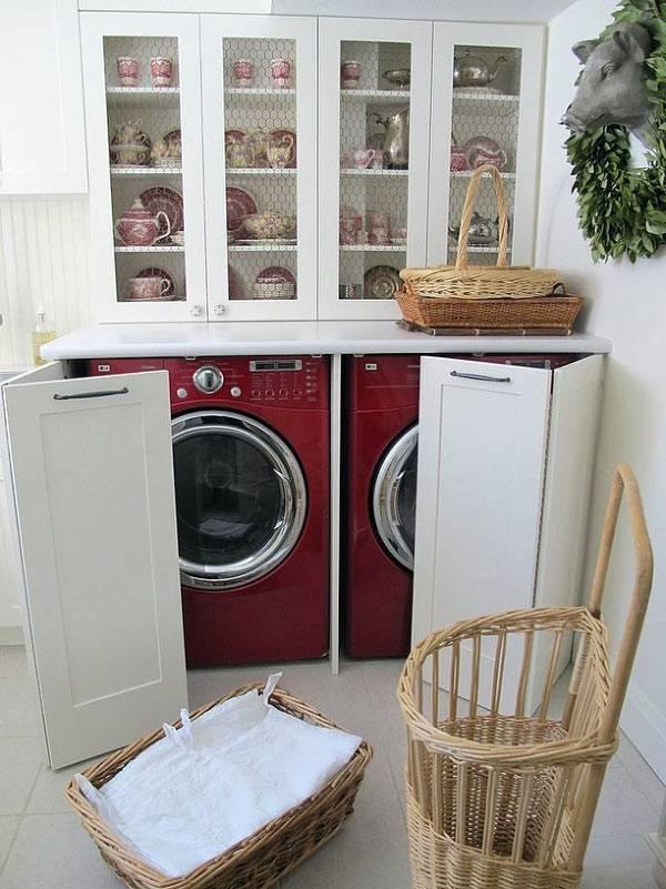как скрыть стиральные машины от глаз в доме