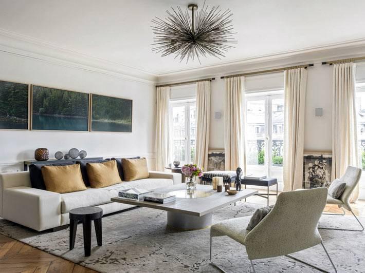 блеклые цвета в дизайне интерьера квартиры