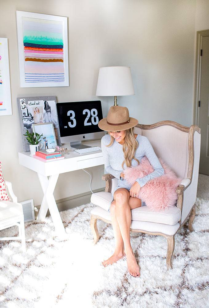 Интерьер домашнего офиса для блоггера Фото красивых