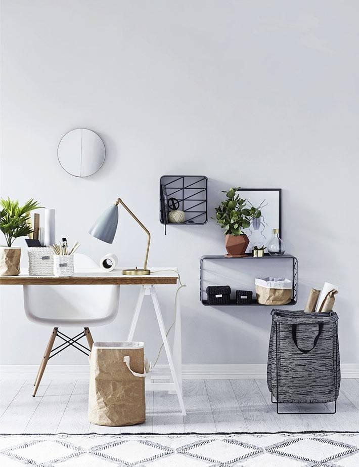 скандинавский стиль в интерьере офиса фото