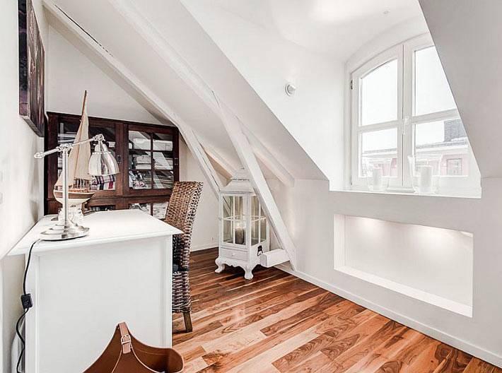 Домашний рабочий кабинет в скандинавском стиле фото