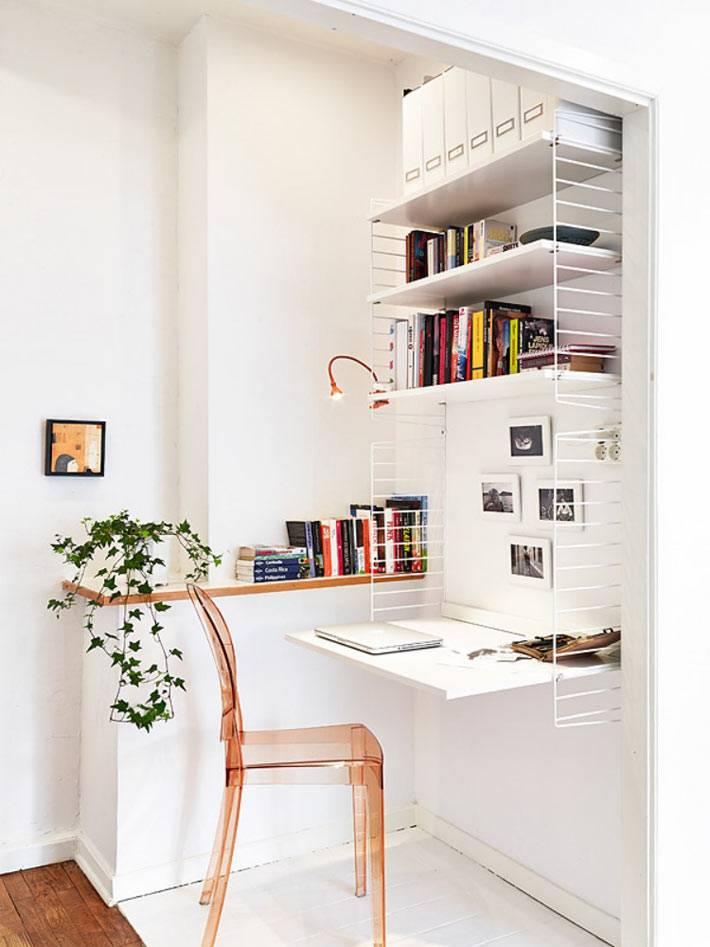 Мини-офис в интерьере квартиры