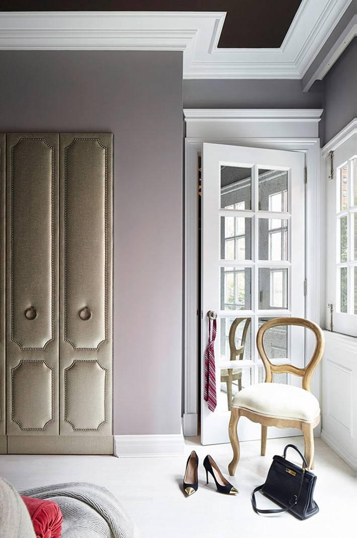красивая мебель для красивого интерьера спальни