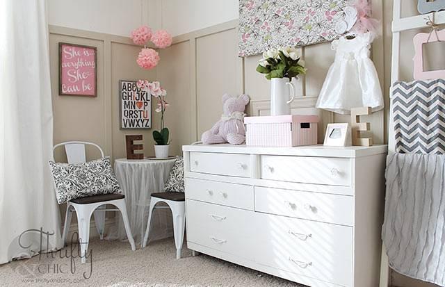 интерьер детской комнаты с красивыми деталями