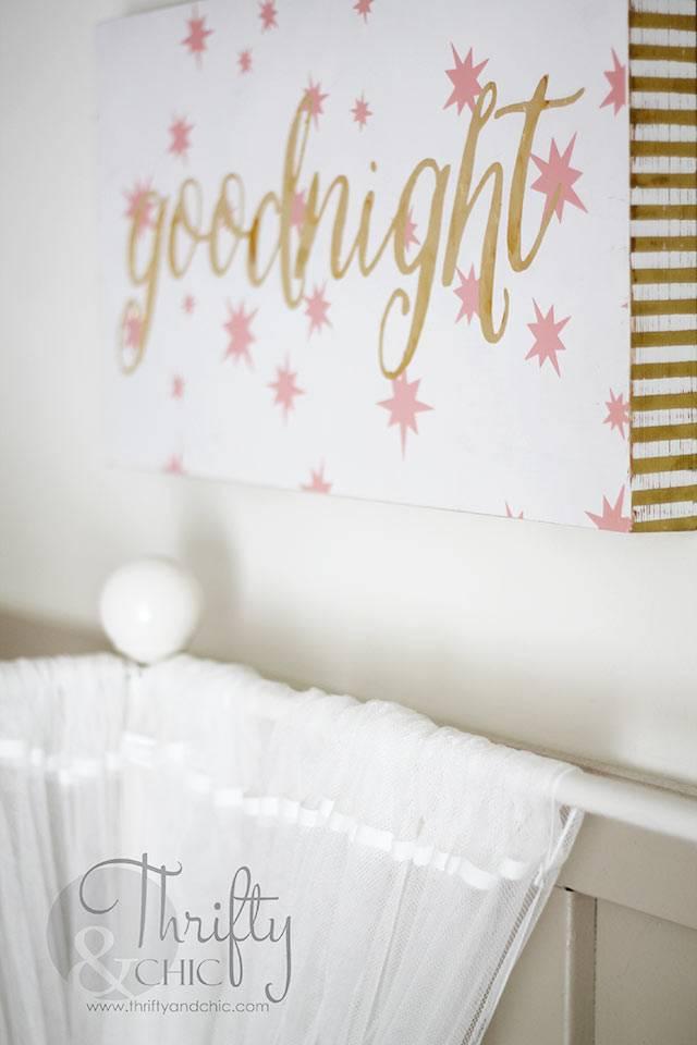 детская комната для девочки с красивым декором