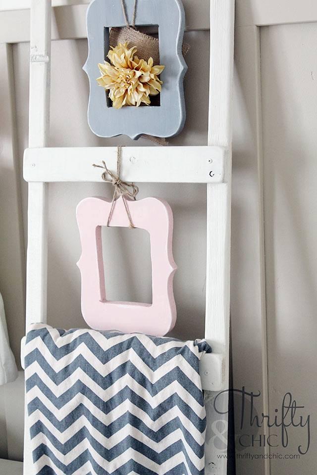 Пустые рамки - красивый декор для детской комнаты